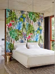 papier peint tendance chambre adulte les 30 meilleures images du tableau tête de lit en papier peint sur