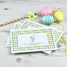 post card invitation easter egg hunt party post card invitations x8 by honey tree