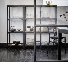 metallregal küche mit einem hauch der 20er jahre das fjällbo regal aus massiver
