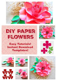 Handmade Flowers Paper - 34 best diy giant paper flowers images on pinterest paper flower