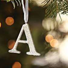 sparkle letter ornaments pbteen