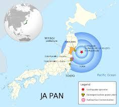Fukushima Radiation Map Radiation Rashomon Assessment Politics In The Fukushima Crisis
