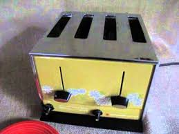 Toastmaster Toaster Retro Toastmaster Toaster In Action Youtube