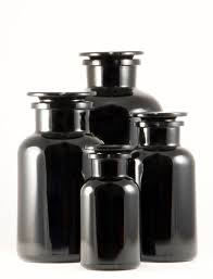 Candy Buffet Apothecary Jars by Miron Violet Glass Apothecary Jar 500 Ml Black Apothecary Jar