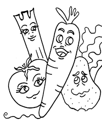 funny fruits coloring pages learn to coloring
