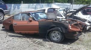 nissan datsun 1978 junkyard jems the japanese datsun 240z 280z toyota fj40