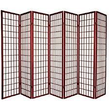 room devider amazon com 7 panel room divider cherry kitchen dining