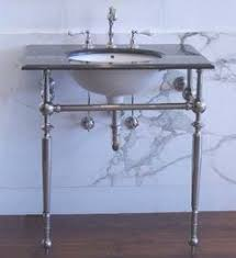 Console Sinks For Small Bathrooms - creating illusion of belle epoque era with belle epoque two