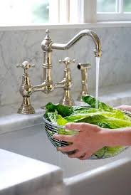 farmhouse kitchen faucets brass bridge faucet with farmhouse sink want kitchens that
