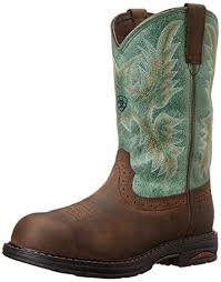 womens boots for work amazon com ariat womens tracey h2o comp toe work shoes