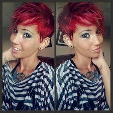 Frisuren Mittellange Haar Rot by Die Besten 25 Pixie Rot Ideen Auf Roter Pixie