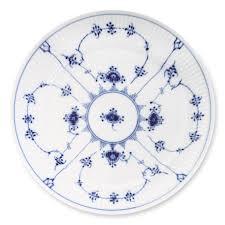 royal copenhagen blue fluted plain dinnerware williams sonoma
