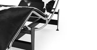 Simple Black And White Lounge Pics Gravity Chaise Lounge Black White Cowhide Kardiel
