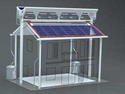 hybrid u0027eco roof u0027 design combines five existing energy saving