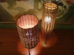 wicker mini accent lamps mini accent lamps in spectacular effect