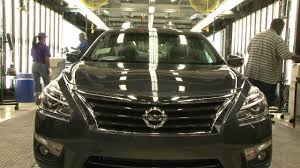 2013 nissan altima jackson ms canton miss manufacturing plant nissan b roll youtube
