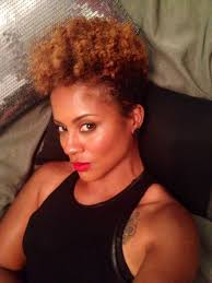 twa pixie on long hair tapered twa natural hair haircut hair growth ombré hair cut