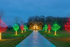 outdoor light display ideas inside house