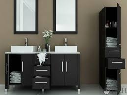 double bowl sink vanity attractive double vessel sink vanity 7 414852 60 bathroom dark