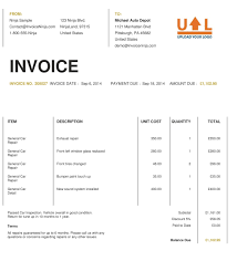 Invoice Templates For Excel 18 Invoice Templates Excel Pdf Formats