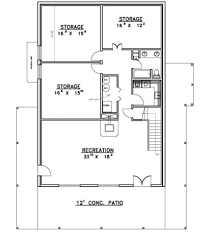 hillside home plans at eplanscom floor plan designs for basement