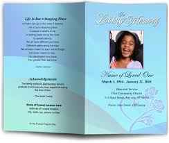 Images Of Funeral Programs Memorial Service Programs With Children Baby Youth Theme
