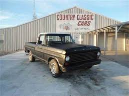 Vintage Ford F100 Truck Parts - 1967 ford f100 for sale on classiccars com 6 available