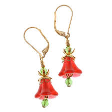tutorial how to christmas day bell earrings beadaholique