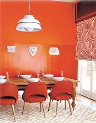 Best Dining Room Decorating Ideas Images On Pinterest Real - Orange dining room