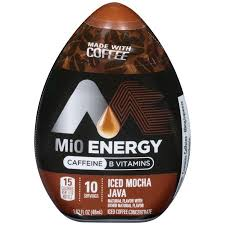 mio energy iced mocha java iced coffee concentrate 1 62 oz bottle