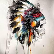 imagenes chidas de calaveras watercolors luiz carlos lopes junior artspiration pinterest