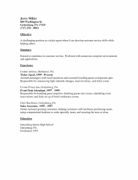 Customer Service Resume Words Examples Writing A Basic Resume Of Resumes Resume Example Nursing
