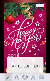2018 new year greeting cards android apps on google play