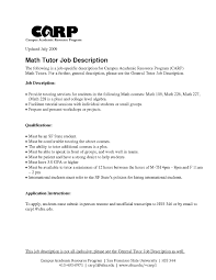 Resume Sample Tutor sample resume for tutors free resume example and writing download