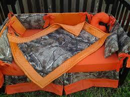 Pink Camouflage Bedding New Brown Real Tree Camouflage Mini Crib Bedding Set W Orange