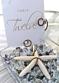 Wedding Table Numbers Ideas Beach Wedding Table Number Ideas 3 Uniquely Yours Wedding Invitation