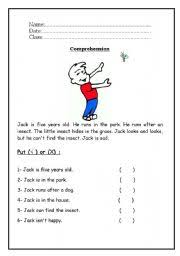 english comprehension worksheets for year 1 worksheet grade 2