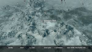 Map Of Skyrim Image Alchemist U0027s Shack On Map Png Elder Scrolls Fandom