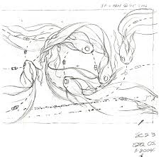 the helpful art teacher draw and paint koi carp using