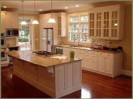 Cream Kitchen Cabinets With Glaze Kitchen Cabinet Doors How To Paint Cream Cabinets With Glaze This
