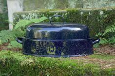 savory roasting pan savory jr walled graniteware enamelware roasting pan
