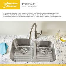 American Standard Portsmouth Undermount Stainless Steel  In - Simply kitchen sinks