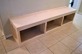 Entryway Bench Seat Entryway Mudroom Tutorial Little Red Brick House