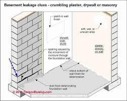 Basement Tanking Methods - wet basement diagnosis u0026 cure how to inspect for basement leaks