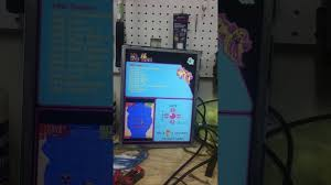jamma 412 in 1 blue game elf ms pac man theme youtube