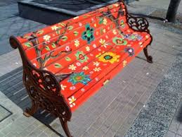 hand painted garden bench hand painted garden benches hand painted