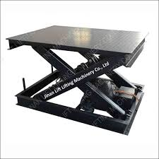 used electric lift table small scissor lift table home decorating ideas