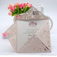 wedding supplies online colorful personalized custom printing wedding invitations hollow