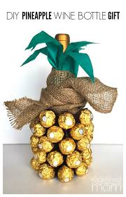 pineapple wine bottle gift all created