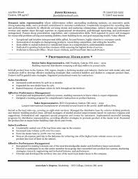 Example Of Sales Resumes Outside Sales Resume Examples Sample Resume123